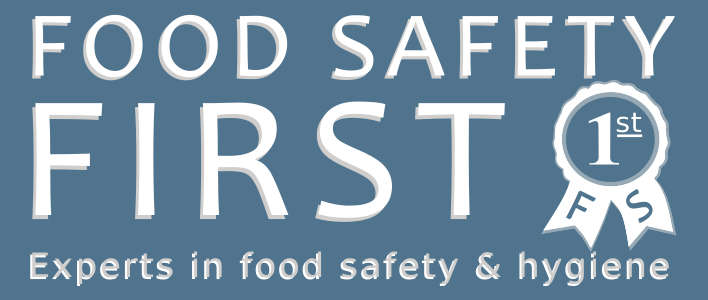 Food Safety First logo